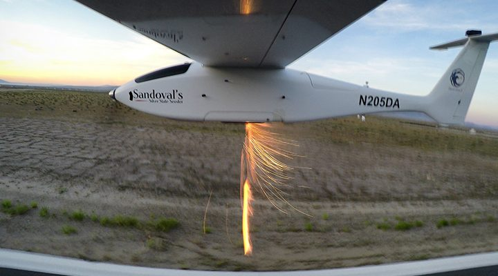 Unmanned Cloud-Seeding Aircraft Takes Flight in Nevada