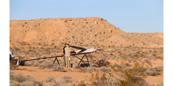 Mesquite, Nevada – A Desert Oasis For Testing Big UAS
