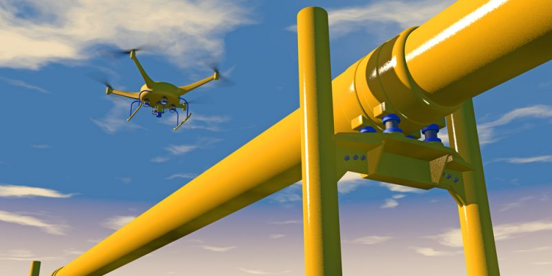 Oil and Gas Industry In Safer Hands With Drone Inspections